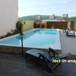 Гостиница «Бретань» в Сукко: открытый бассейн
