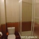 Гостевой дом «На Пионерском»: сан.узел в 2-х местном 1-комнатном полулюксе